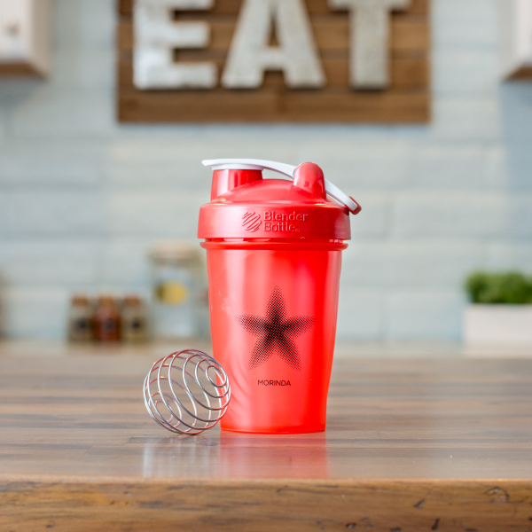 Red Blender Bottle Photo