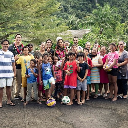 SOS Children's Village enjoys visit from Miss Tahiti article image