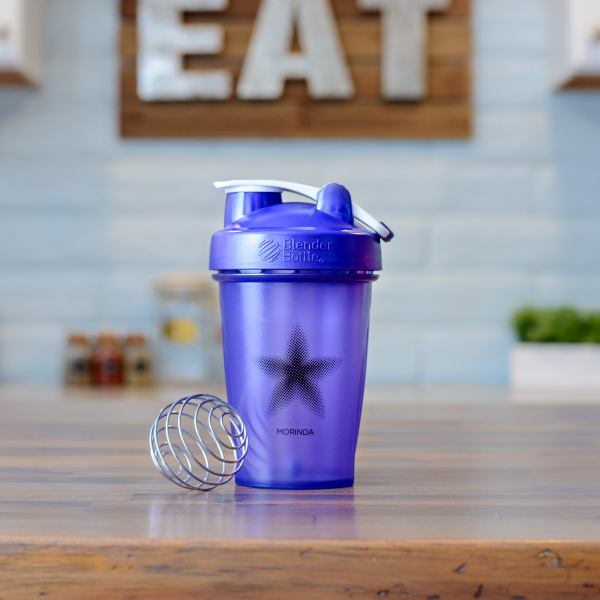Purple Blender Bottle Photo
