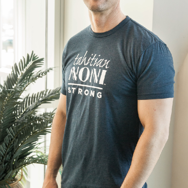 Navy Tahitian Noni Strong Unisex Shirt Photo