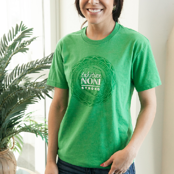 Green Tahitian Noni Strong Unisex Shirt Photo