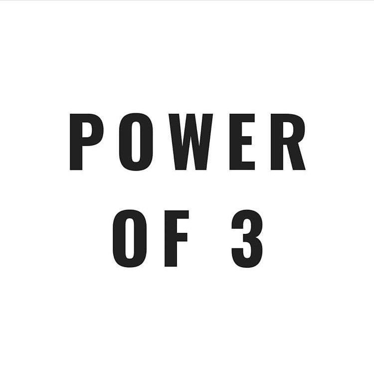 POWER OF 3 article image