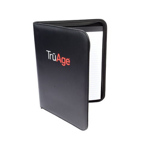 TruAge Black Padfolio Photo