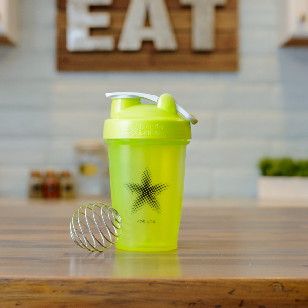 Green Blender Bottle Photo