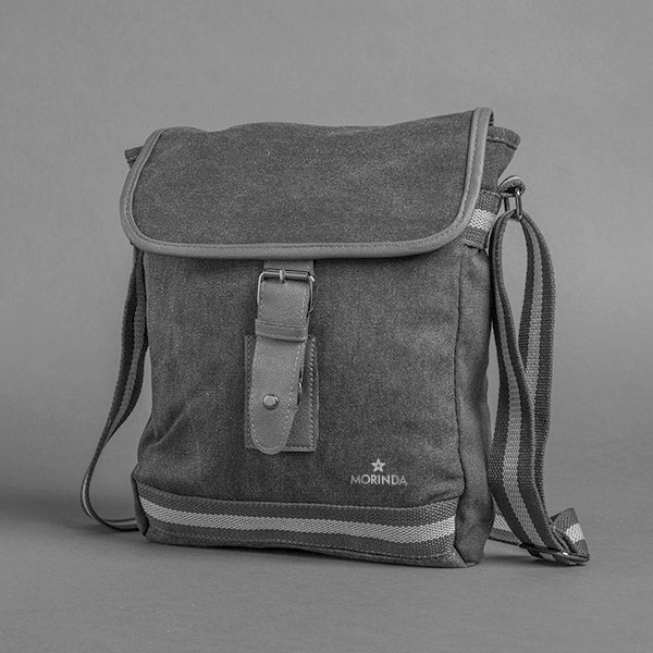 Grey Morinda Messenger Bag Photo