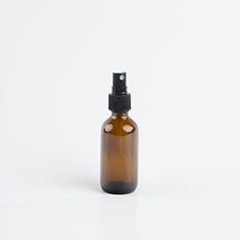 2 oz Glass Bottle w/Pump Sprayer Photo