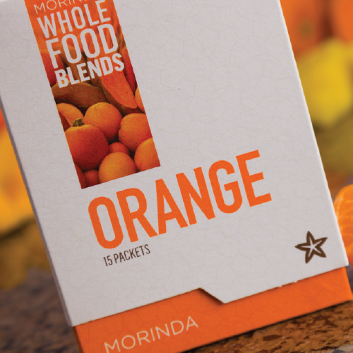 Feel the power of orange with Whole Food Blends article image