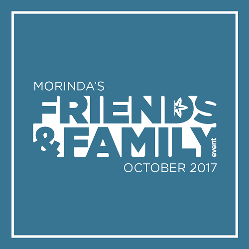 STAY TUNE TO MORINDA'S FRIENDS AND FAMILY EVENT 23-31 OCTOBER! article image