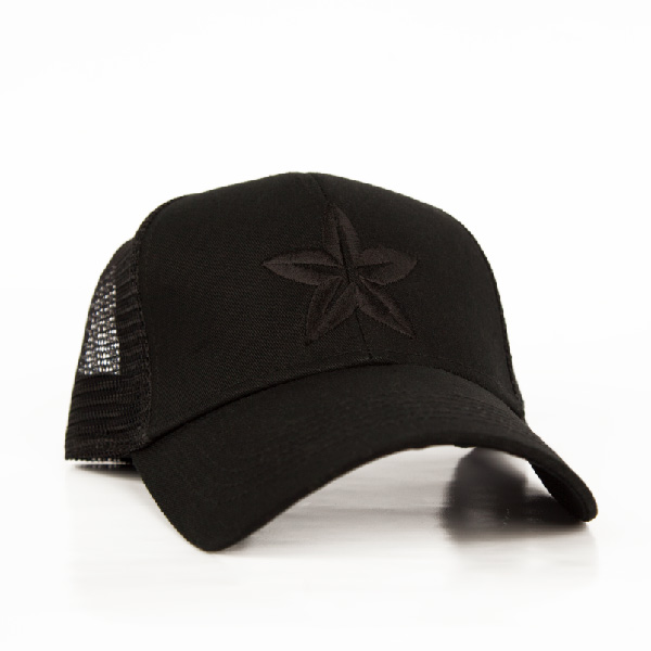 Morinda Star Baseball Hat Black Photo