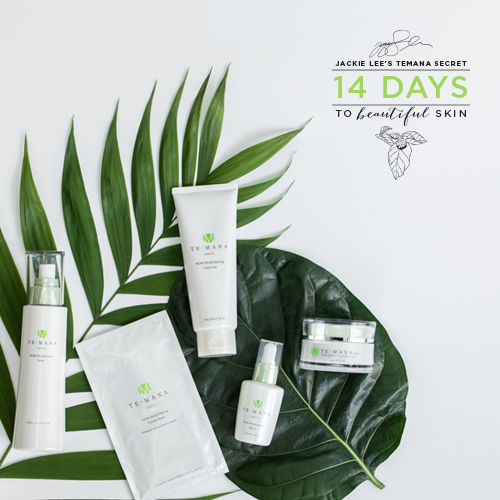 Complete Jackie Lee's 14 Day challenge for FREE gifts and glorious skin! article image