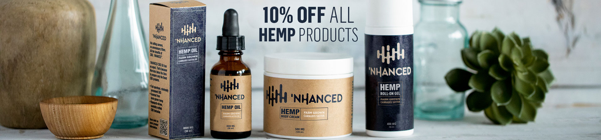 NHANCED HEMP 10