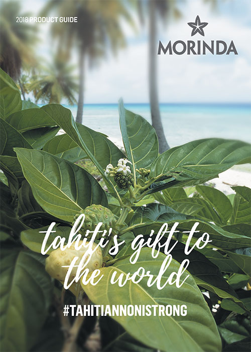 Morinda 2018 Product Guide Photo