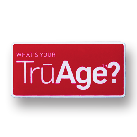 TrūAge Lapel Pin Photo