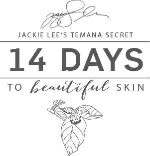 """Jackie Lee`s Temana Secret: 14 days to beautiful skin"" är tillbaka! article image"
