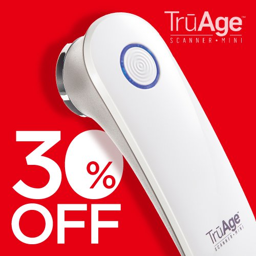 【8月27日~8月31日】<br>TruAgeスキャナー mini 30%OFF! article image