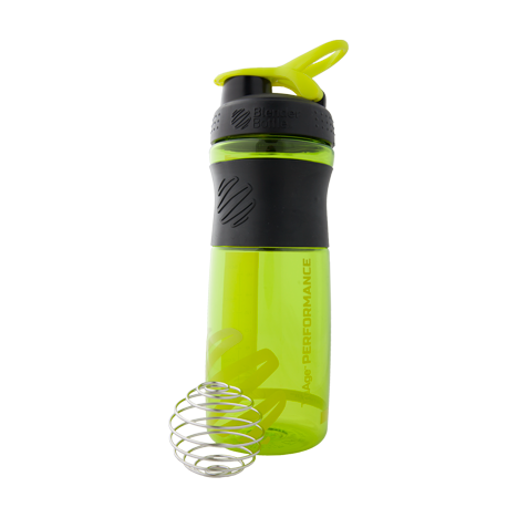 TrūAge Performance Sport Mixer Bottle 26oz (760ml) Green Single Photo