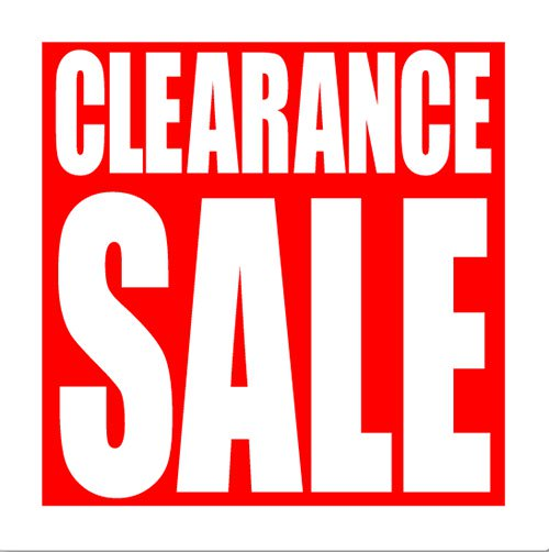 Clearance Sale on now! article image