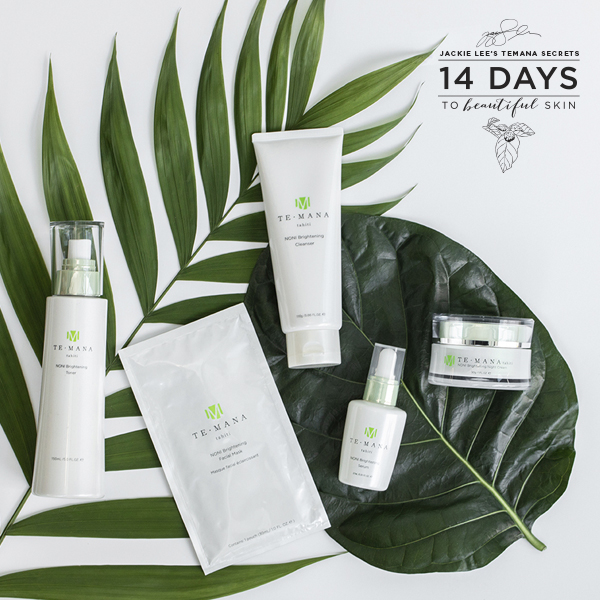 Jackie Lee's TeMana Secret: 14 Days to Beautiful Skin Pack Photo