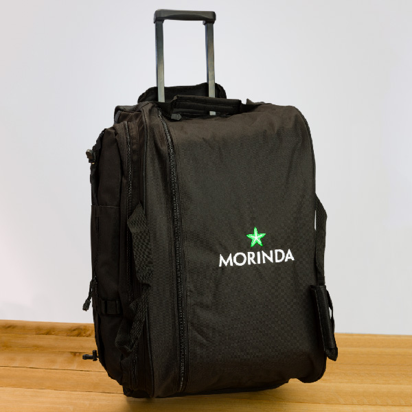 Morinda Rolling Black Duffle Bag Photo